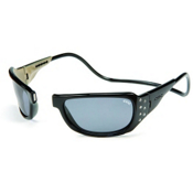 Clic Eyewear Monarch Sunglasses, Black, medium