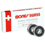 Bones Swiss Precision 16 Pack Skate Bearings 2017, , medium