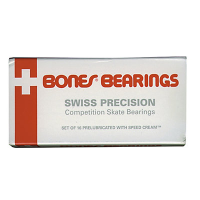 Bones Swiss ABEC 3 20 Pack Skate Bearings, , large