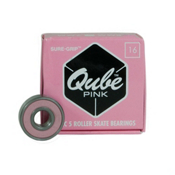 Sure Grip International QUBE Pink Skate Bearings, , medium