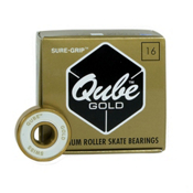 Sure Grip International QUBE Gold Swiss Skate Bearings, , medium