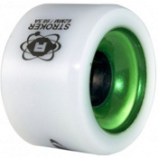 Atom Stroker Roller Skate Wheels - 8 Pack 2014, White, medium
