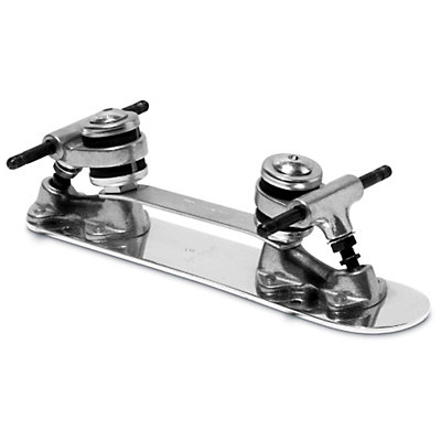 Sure Grip International Classic Stopless Roller Skate Plates with Trucks, 7mm, viewer