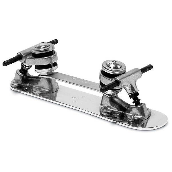 Sure Grip International Classic Stopless Roller Skate Plates with Trucks, 7mm, 600