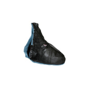 Sure Grip International Premium Leather Saddle Skate Bag 2014, Black-Blue, medi