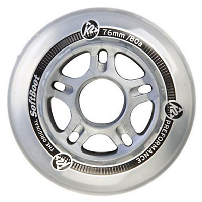 K2 80A Inline Skate Wheels with ABEC 5 Bearings - 8 Pack, , large