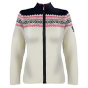 Dale Of Norway Kongsvollen Ski Womens Sweater, Off White-Allium-Navy, medium