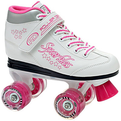Roller Derby Sparkle Lighted Wheel Girls Outdoor Roller Skates, , large