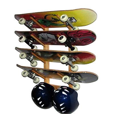Del Sol Racks Skateboard Rack 4 Space Angle, , large
