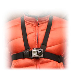 GoPro Chest Mount Harness, Black, 256