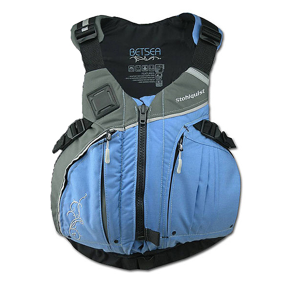 Stohlquist Betsea Womens Kayak Life Jacket 2017, Powder Blue, 600