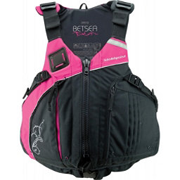Stohlquist Betsea Womens Kayak Life Jacket 2017, Pink-Black, 256