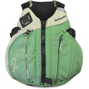 Stohlquist Betsea Womens Kayak Life Jacket, Sage-Sand, medium