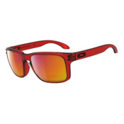 Oakley Holbrook Sunglasses, Crystal Red, medium