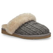 UGG Australia Cozy Knit Womens Slippers, Heather Grey, medium