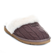 UGG Australia Cozy Knit Womens Slippers, Chocolate, medium