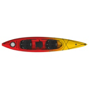 Perception Prodigy II 14.5 Tandem Kayak 2013, Red-Yellow Fade, medium