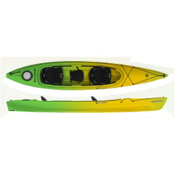 Perception Prodigy II 14.5 Tandem Kayak 2014, Lime-Yellow, medium