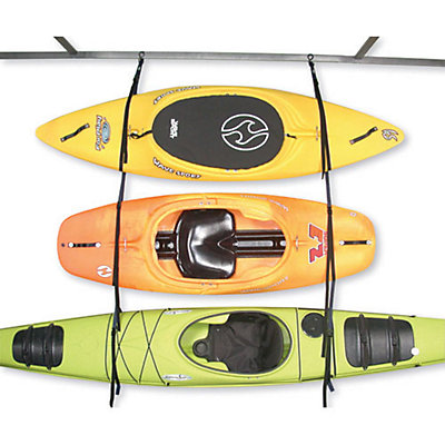 Harmony Hanger Kayak Storage System, Black-Blue, viewer