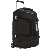 Thule Crossover 56L Rolling Duffle Bag 2013, Black Ghost Dot, medium
