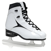 Lake Placid Viper Womens Figure Ice Skates, White, medium