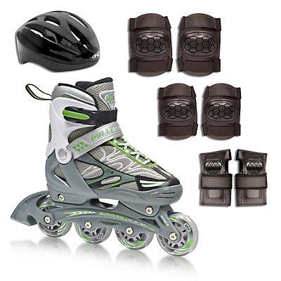 Roller Derby ZX-9 Pack Adjustable Kids Inline Skates, , large