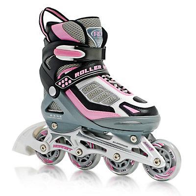 Roller Derby Hornet Pro Adjustable Girls Inline Skates, , large