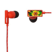 Frends Clip Earbuds, Blood Red-Kingston, medium