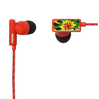 Frends Clip Earbuds, Blood Red-Kingston, large
