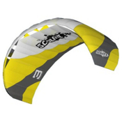 HQ Kites Scout II Power Kite, Yellow-White, medium