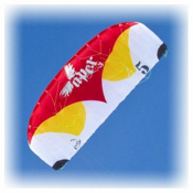 HQ Kites Apex III Power Kite, Red-White, medium