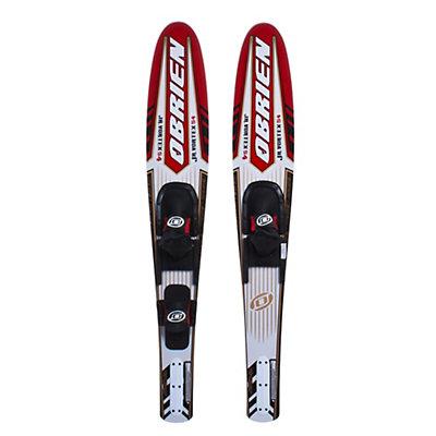 O'Brien Vortex Junior Combo Water Skis With 600 Junior Adjustable Bindings 2012, , large
