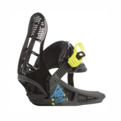 K2 Mini Turbo Kids Snowboard Bindings, Black, medium