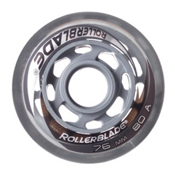 Rollerblade 76mm 80A Inline Skate Wheels - 8 Pack 2015, , medium