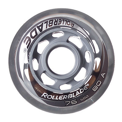 Rollerblade 76mm 80A Inline Skate Wheels - 8 Pack 2015, , viewer