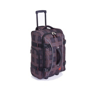 Athalon Sport Bags Athalon 21'' Hybrid Traveler Bag, Plaid, medium