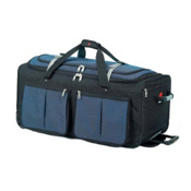 Athalon Sport Bags 15 Pocket 25'' Wheeled Duffel Bag, Blue, medium