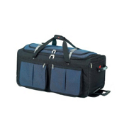 Athalon Sport Bags 15 Pocket 29'' Wheeled Duffel Bag, Blue, medium