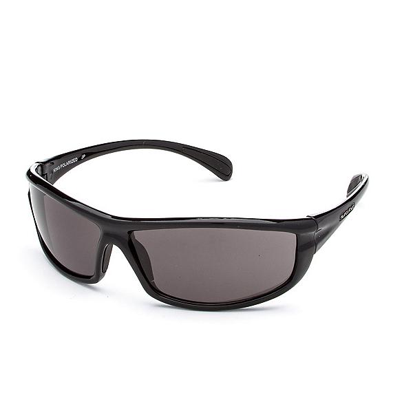 SunCloud King Sunglasses, Black-Gray Polarized, 600