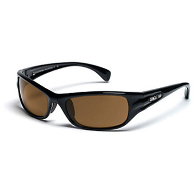 SunCloud Star Sunglasses, Black, viewer