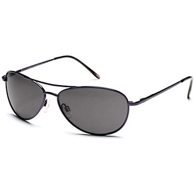 SunCloud Patrol Sunglasses, Blackberry-Gray Polarized, viewer