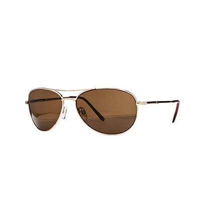 SunCloud Patrol Sunglasses, Brown-Brown Polarized, viewer