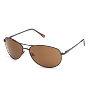 SunCloud Patrol Sunglasses, Brown-Brown Polarized, medium