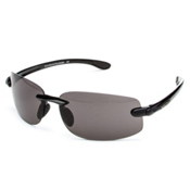 SunCloud Excursion Polarized Sunglasses, Black-Gray Polarized, medium