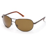 SunCloud Aviator Sunglasses, Brown, medium