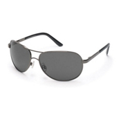 SunCloud Aviator Sunglasses, Gunmetal, medium