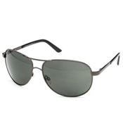 SunCloud Aviator Sunglasses, Gunmetal-Gray Polarized, medium