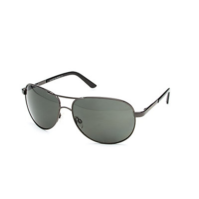 SunCloud Aviator Sunglasses, Gunmetal-Gray Polarized, viewer