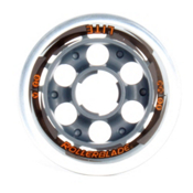 Rollerblade Replay 80mm 82A Inline Skate Wheels - 8 Pack 2013, 80mm, medium