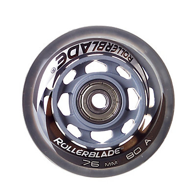 Rollerblade 76mm 80A Inline Skate Wheels with SG5 Bearings - 8 Pack, , large